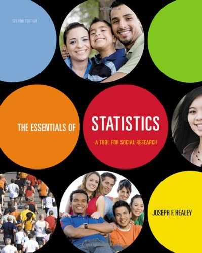 9780495601432: The Essentials of Statistics: A Tool for Social Research