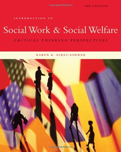 9780495601685: Introduction to Social Work & Social Welfare: Critical Thinking Perspectives