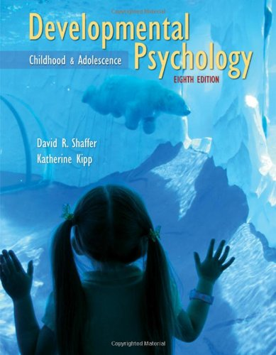9780495601715: Developmental Psychology: Childhood and Adolescence