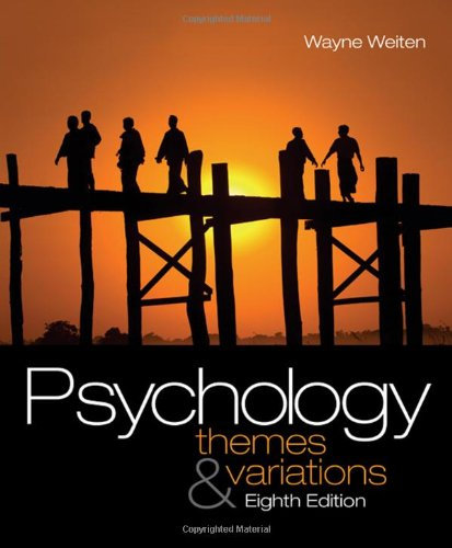 9780495601975: Psychology: Themes and Variations, 8th Edition