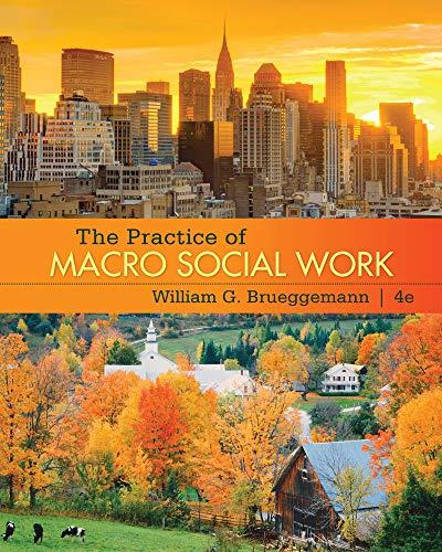 The Practice of Macro Social Work: Brueggemann, William G