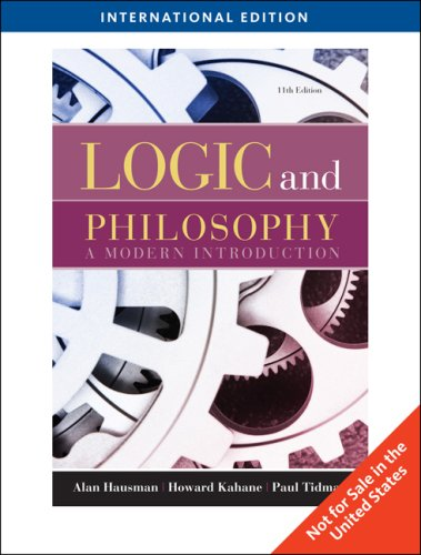 9780495602903: Logic and Philosophy a Modern Introduction
