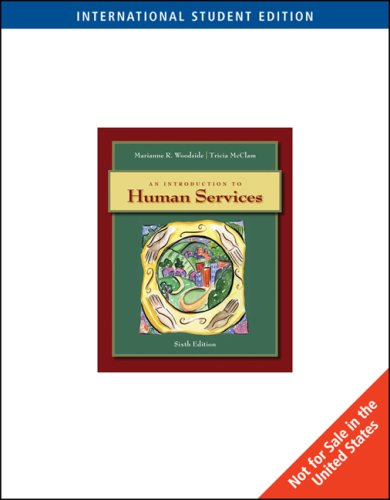 9780495603603: An Introduction to Human Services