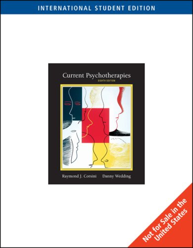 9780495603665: Current Psychotherapies