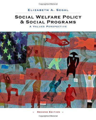 9780495604198: Social Welfare Policy and Social Programs: A Values Perspective