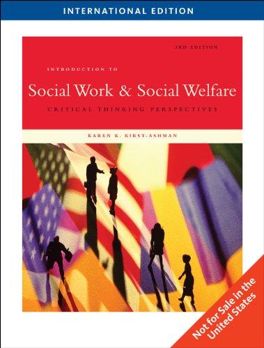 9780495604297: Introduction to Social Work & Social Welfare