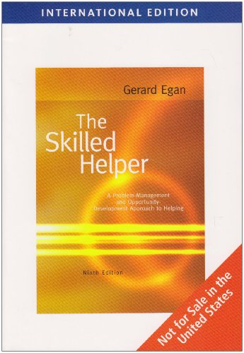 9780495604310: The Skilled Helper, International Edition