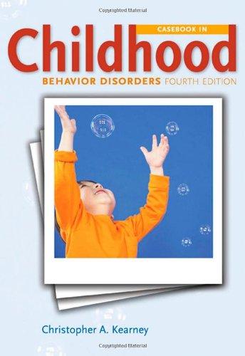 9780495604419: Casebook in Child Behavior Disorders