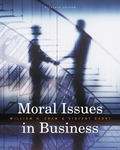 9780495604693: Moral Issues in Business