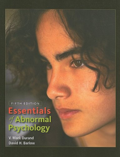 9780495605256: Essentials of Abnormal Psychology