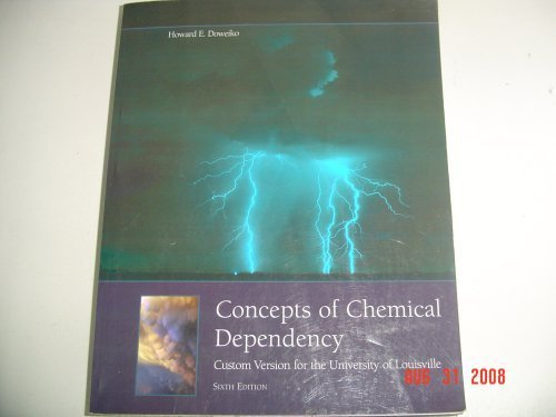 9780495635789: Concepts of Chemical Dependency
