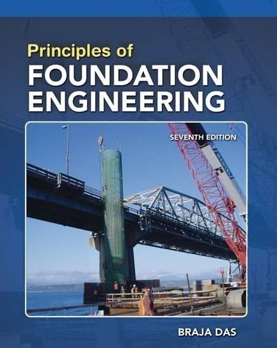 Principles of Foundation Engineering, SI Edition: Braja M. Das