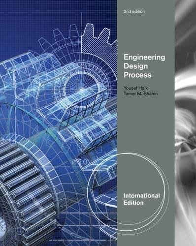 9780495668169: Engineering Design Process, International Edition
