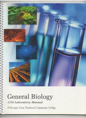 9780495731344: General Biology 1110 Laboratory Manual: Pellissippi State Technical College