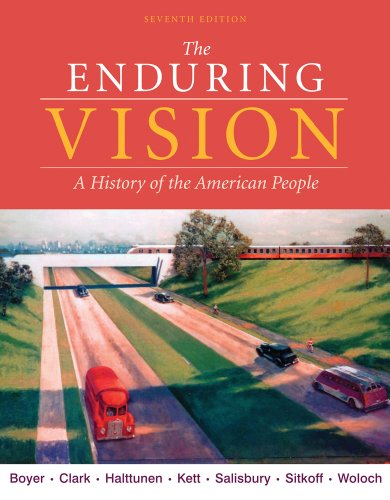 9780495793595: The Enduring Vision: A History of the American People (Available Titles CourseMate)