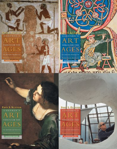 9780495794424: Gardner's Art through the Ages: 4 Volume Backpack Edition (with Art Study & Timeline Printed Access Card)