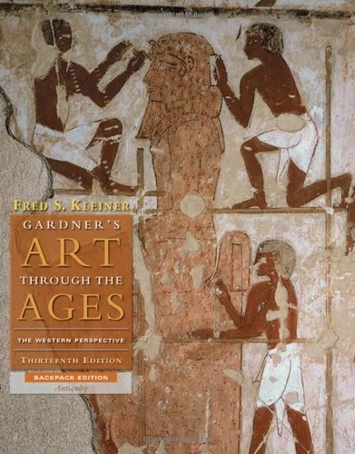 Gardner's Art Through the Ages: Backpack Edition, Book A (0495794481) by Fred S. Kleiner