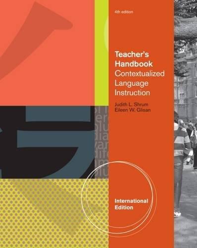 9780495797364: Teacher's Handbook, International Edition