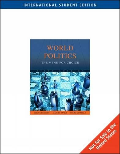 9780495797388: World Politics