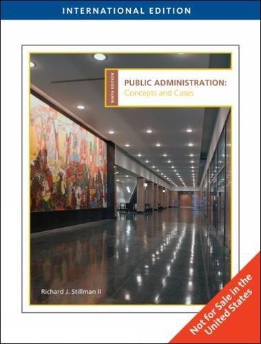 9780495797425: Public Administration
