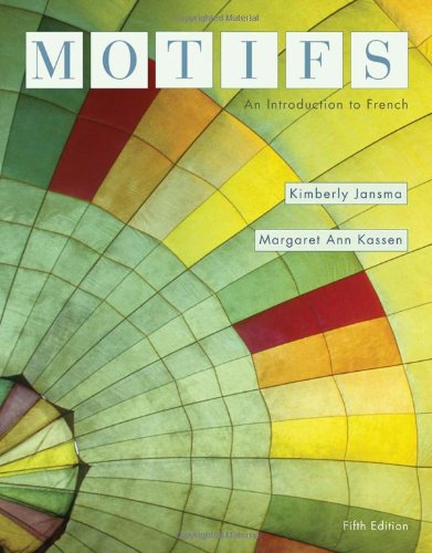 9780495797494: Motifs: An Introduction to French (Available Titles iLrn: Heinle Learning Center)