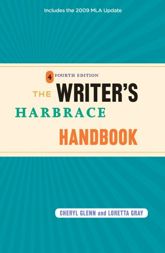 9780495797531: The Writer's Harbrace Handbook: Includes the 2009 MLA Update