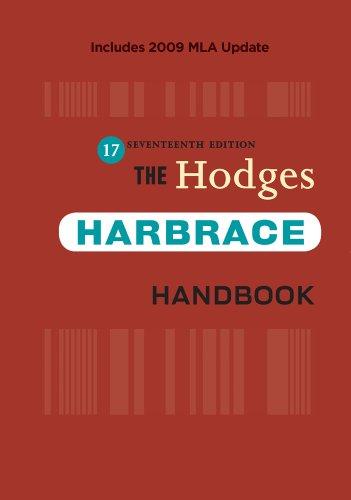 9780495797562: The Hodges Harbrace Handbook, 2009 MLA Update Edition (2009 MLA Update Editions)