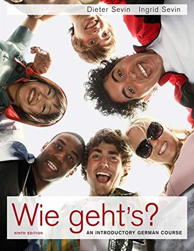 9780495797647: Wie geht's? (World Languages)
