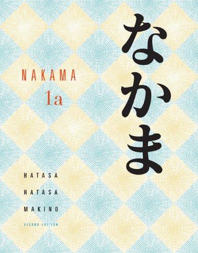 9780495798286: Student Activity Manual for Hatasa/Hatasa/Makino's Nakama 1