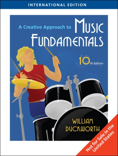 9780495798330: A Creative Approach to Music Fundamentals