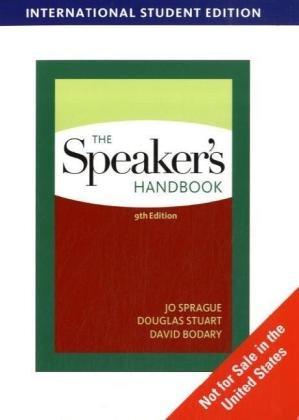 9780495798736: The Speaker's Handbook