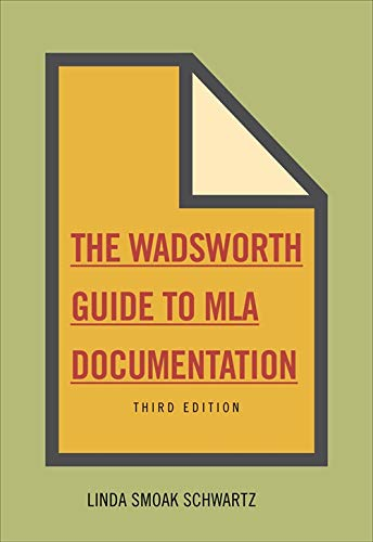 9780495799832: The Wadsworth Essential Reference Card to the MLA Handbook for Writers of Research Papers