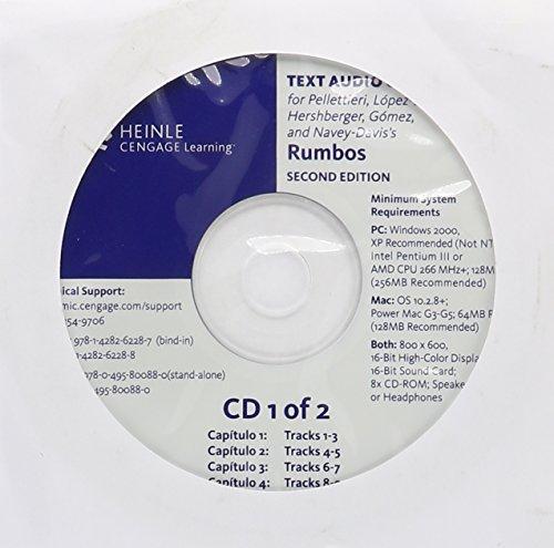Audio CD-ROM (Stand Alone) for Pellettieri/Lopez-Burton/Hershberger/Gomez/Navey-Davis' Rumbos: Pellettieri, Jill; Lopez-Burton,
