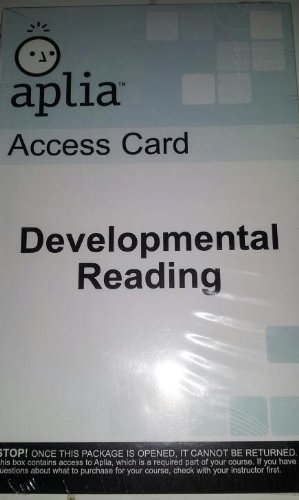 9780495801009: Aplia Access Card: Developmental Reading-cd-rom