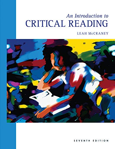 9780495801795: An Introduction to Critical Reading