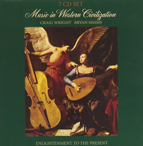 9780495801856: Audio CD, Volume 2 for Wright/Simms' Music in Western Civilization, Media Update