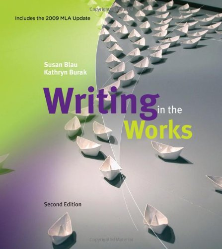 9780495802006: Writing in the Works, 2009 MLA Update Edition (2009 MLA Update Editions)