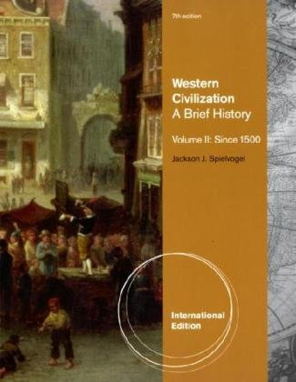 9780495802273: Western Civilization: v. 2: A Brief History