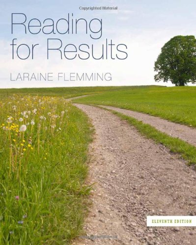 Reading for Results (Available Titles Aplia): Laraine E. Flemming