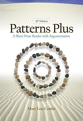 9780495802525: Patterns Plus: A Short Prose Reader with Argumentation