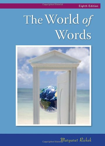 9780495802556: The World of Words: Vocabulary for College Success