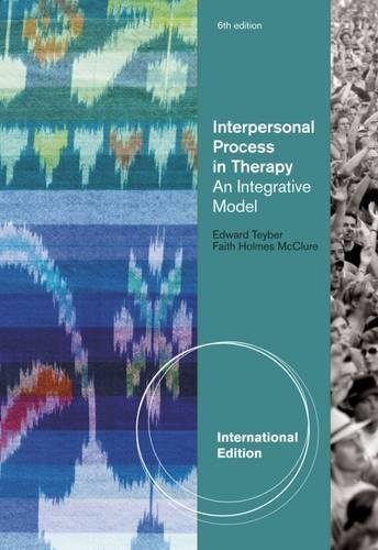 9780495804208: Interpersonal Process in Therapy: An Integrative Model, International Edition