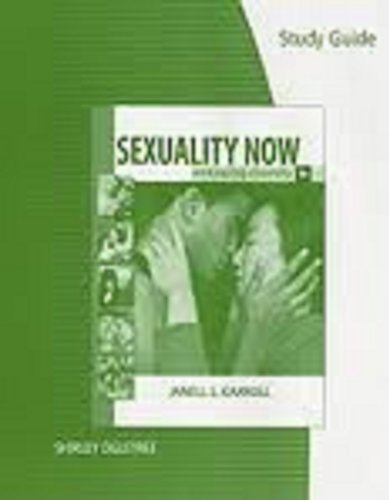 9780495805069: Study Guide for Carroll's Sexuality Now: Embracing Diversity, 3rd