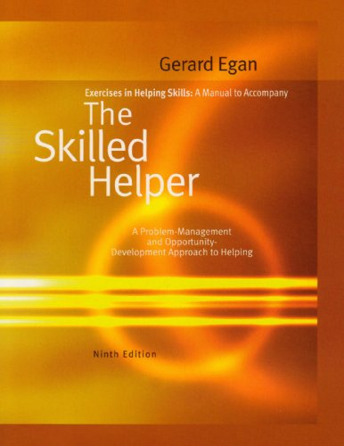 9780495806325: Exercises in Helping Skills for Egan's the Skilled Helper, 9th