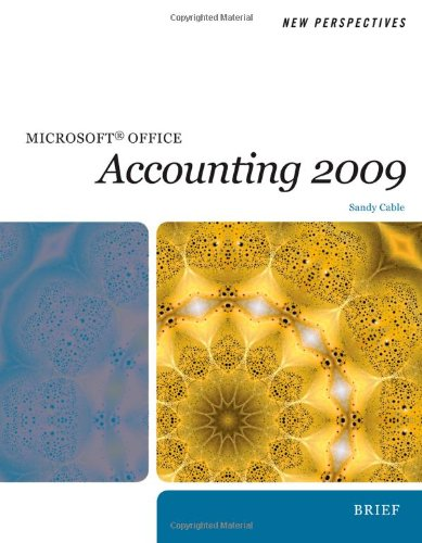 9780495806424: New Perspectives on Microsoft Office Accounting 2009, Introductory (New Perspectives (Course Technology Paperback))