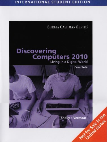 9780495806813: Discovering Computers 2010