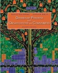 Student Manual for Kirst-Ashman/Hull's Generalist Practice with: Karen K. Kirst-Ashman