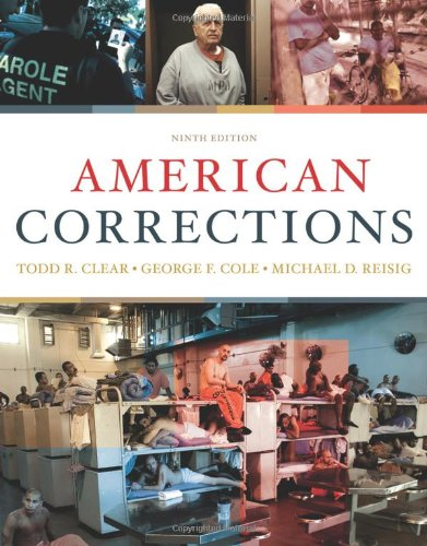 9780495807483: American Corrections