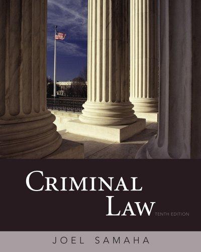 9780495807490: Criminal Law