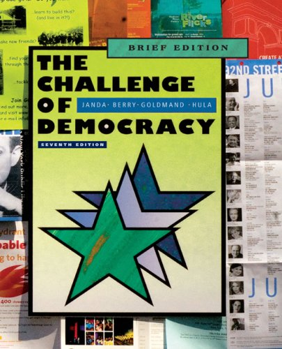 9780495807827: The Challenge of Democracy: American Government in a Global World, Brief Edition (with Resource Center Printed Access Card)
